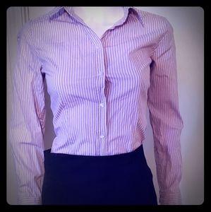 Merona womens long sleeve button down shirt